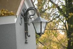 lampa z zawieszką